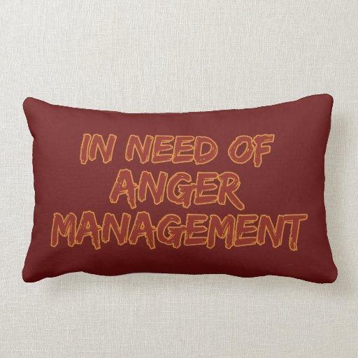 Almohada de encargo del color de la gestión de la