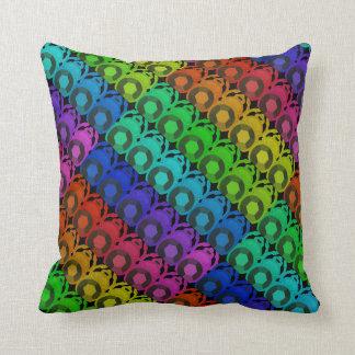 Almohada de encargo del escarabajo del arco iris cojín decorativo