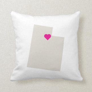 Almohada de encargo del reversible del amor del es