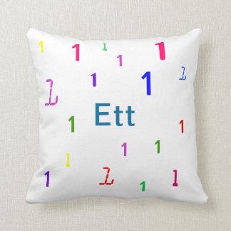 Almohada de Ett - almohada de tiro decorativa del