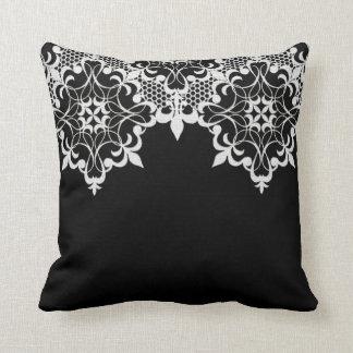 Almohada de Fleur De Lace Black