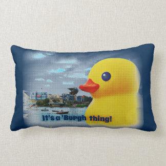 Almohada de goma del pato