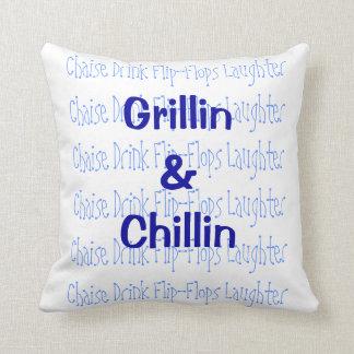 Almohada de Grillin y de Chillin