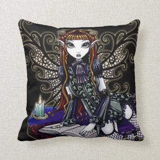 Almohada de hadas del arte del Victorian gótico de