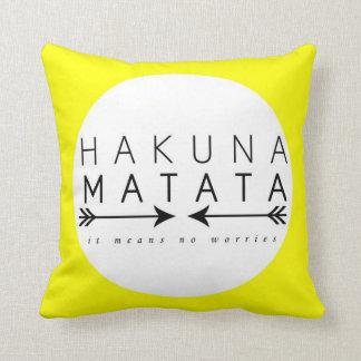 Almohada de Hakuna Matata