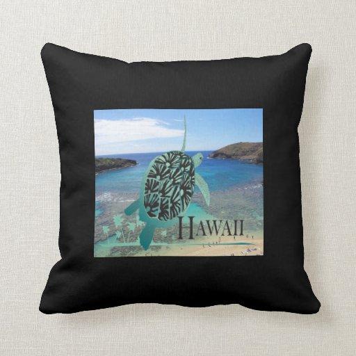 Almohada de Hawaii de la bahía de Hanauma