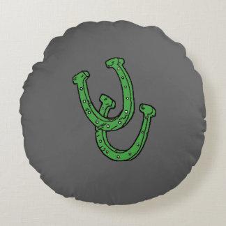 Almohada de herradura redonda de encargo del cojín redondo