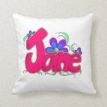 """Almohada de """"Jane"""" para los chicas"""