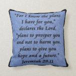 almohada de Jeremiah 29-11