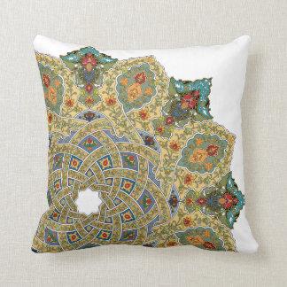 Almohada de la alfombra persa por Graphita