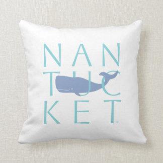 Almohada de la ballena de Nantucket