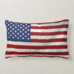 Almohada de la bandera americana