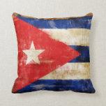 Almohada de la bandera de Cuba