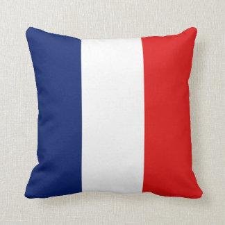 Almohada de la bandera de la bandera x de Francia