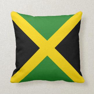 Almohada de la bandera de la bandera x de Jamaica