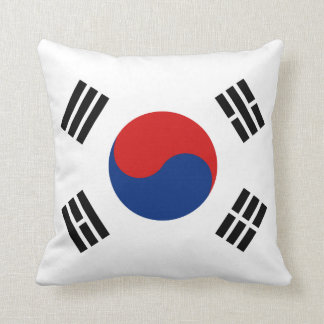 Almohada de la bandera de la bandera x de la Corea Cojín Decorativo