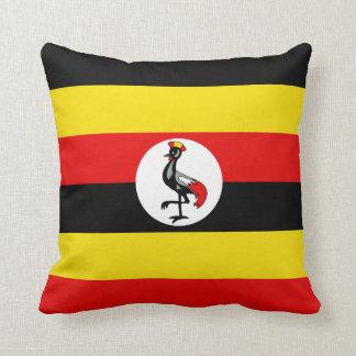 Almohada de la bandera de la bandera x de Uganda