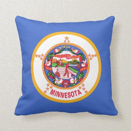 Almohada de la bandera de Minnesota