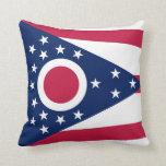 Almohada de la bandera de Ohio