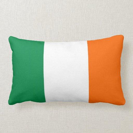 almohada de la bandera de país de Irlanda