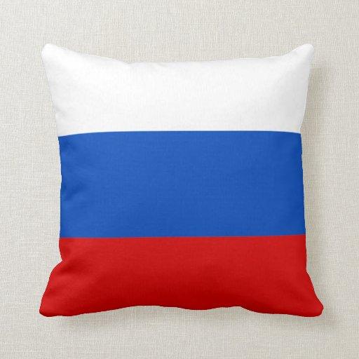 Almohada de la bandera de Rusia