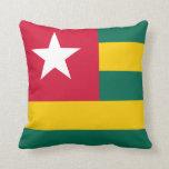 Almohada de la bandera de Togo