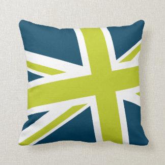 Almohada de la bandera de unión - cuadrado