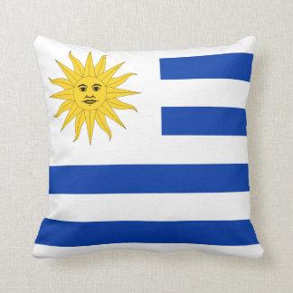 Almohada de la bandera de Uruguay