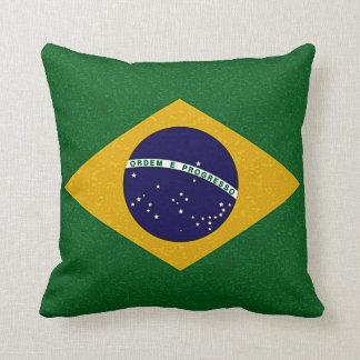 Almohada de la BANDERA del BRASIL