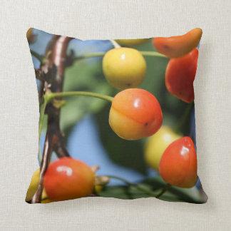 Almohada de la baya de la cereza
