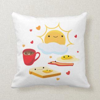 Almohada de la buena mañana cojín decorativo
