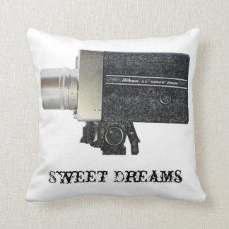 Almohada de la cámara del vintage Super8 de los su
