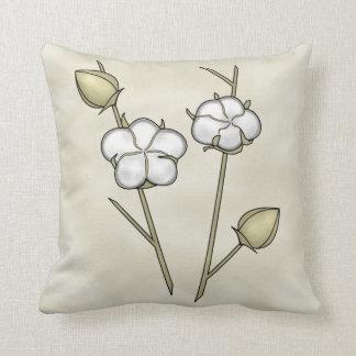 Almohada de la cápsula del algodón cojín decorativo