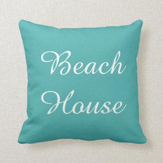 Almohada de la casa de playa de Seafoam del trullo