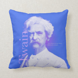 Almohada de la cita de Mark Twain