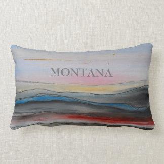 Almohada de la cita de Montana