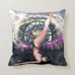 Almohada de la colección de la yoga del soporte