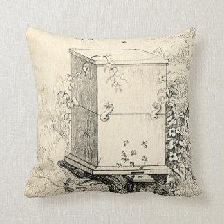 Almohada de la colmena de la abeja del vintage