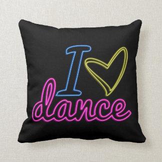 Almohada de la danza del amor del neón I