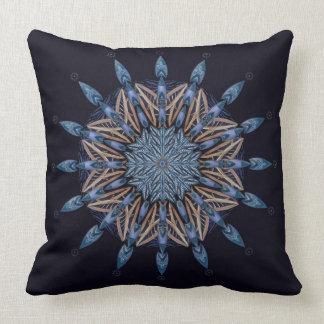 Almohada de la decoración de la mandala del modelo