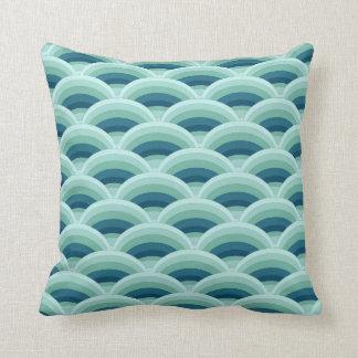 Almohada de la decoración de las ondas de la