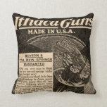 Almohada de la decoración del hogar de la escopeta