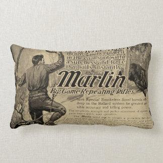 Almohada de la decoración del hogar del anuncio de