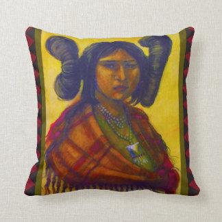 Almohada de la doncella del Hopi