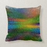 Almohada de la explosión del arco iris