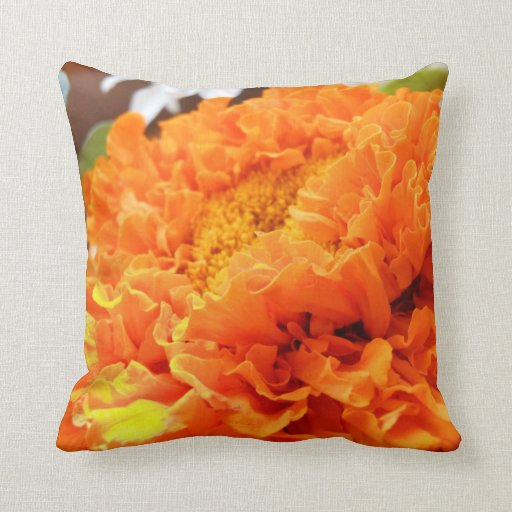 Almohada de la flor de la maravilla
