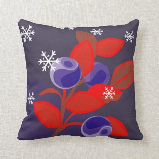 Almohada de la flor de la nieve