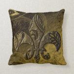 Almohada de la flor de lis