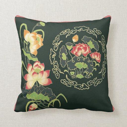 Almohada de la flor de Lotus del chino