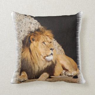 Almohada de la foto del león